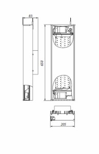 iprom-x2 чертеж