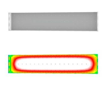 Освещение промышленного цеха (iProm х2-12700)