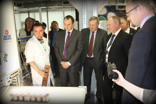Открытие производственной линии «Светлана-Оптоэлектроника» прошло с участием вице-губернатора Петербурга