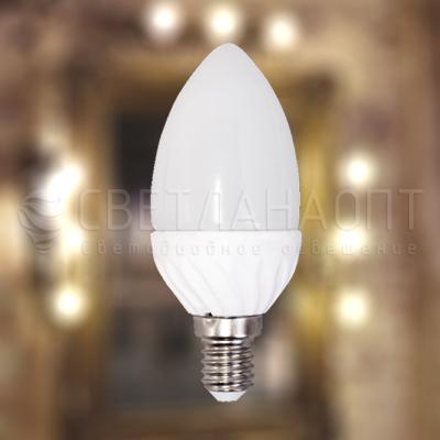 Светодиодная лампа iRLED C37 свеча E14 4W