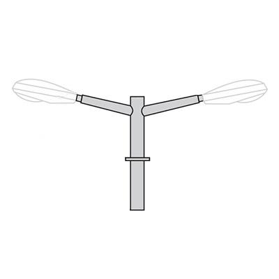Кронштейн для консольного светильника К21