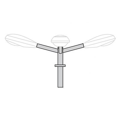 Кронштейн для консольного светильника К22