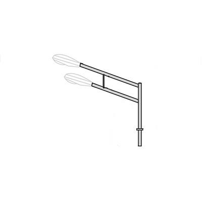 Кронштейн для консольного светильника К37