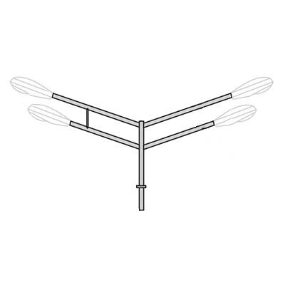 Кронштейн для консольного светильника К38
