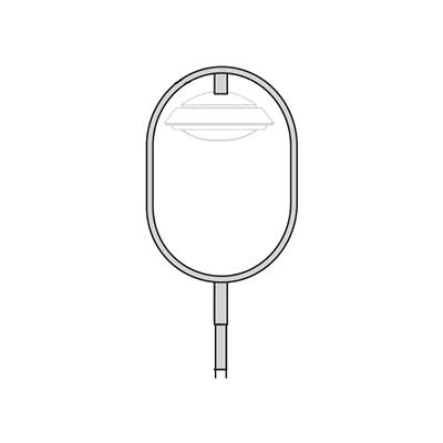 Кронштейн для подвесного и торшерного светильника К102