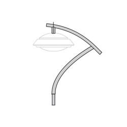 Кронштейн для подвесного и торшерного светильника К103