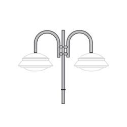 Кронштейн для подвесного светильника К16