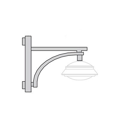 Кронштейн для подвесного светильника К42
