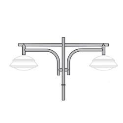 Кронштейн для подвесного светильника К43
