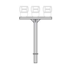 Кронштейн для прожекторов К61