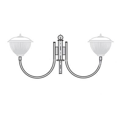 Кронштейн для торшерного светильника К30