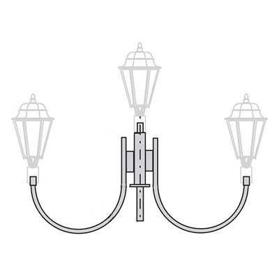 Кронштейн для торшерного светильника К33