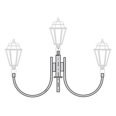 Кронштейн для торшерного светильника К34