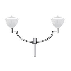 Кронштейн для торшерного светильника К41