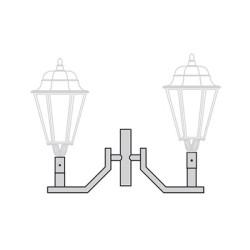 Кронштейн для торшерного светильника К94