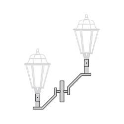 Кронштейн для торшерного светильника К95